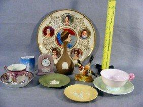 Lot Of Porcelain Including Wedgwood Jasperware [one