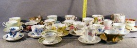 Large Lot Of Cups & Saucers Including, Stanley, Add