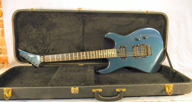 17a kramer phantom electric guitar with case excellen lot 17a. Black Bedroom Furniture Sets. Home Design Ideas