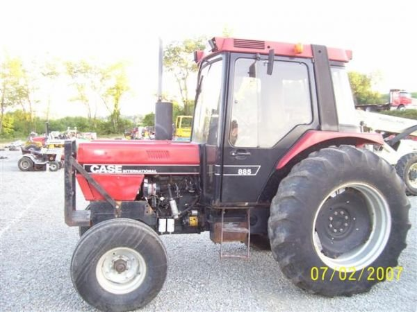 case ih 885 electrical what to look for when buying case ih 885 1124 case ih 885 xl tractor w cab heat air lot
