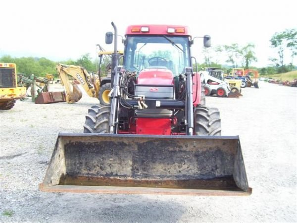 1117 Nice Mccormick Cx95 4wd Tractor W Cab Air Loader