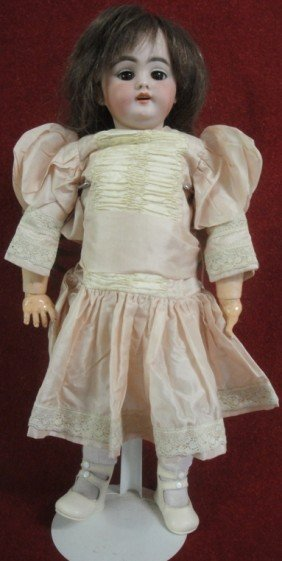 German Doll - Signed #1039 Dep 7 - Jointed Plaster