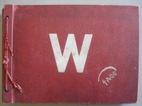 Ken Fagg's Original School Scrap Book From 8th Gra