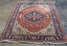 Room Size Estate Found Oriental Rug - Hand Made -