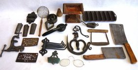 Grouping Of Country Items Including Food Chopper, Early