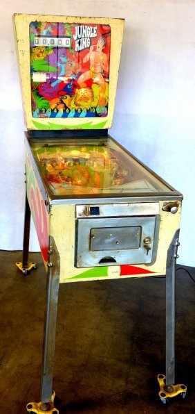 """Floor Standing """"jungle King"""" Pin Ball Game Manufactured"""