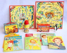 Grouping Of Toys Including 1950's-60's Tv & Celebrity