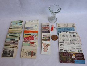 Grouping Of Mostly Local Ephemera Including 52 Mostly