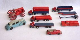 Grouping Of 8 Mostly Die Cast Vehicles.