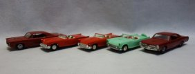 Grouping Of 5 Automobile Dealer Promotion Cars