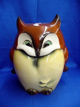 473 Goebel Owl Cookie Jar Lot 473