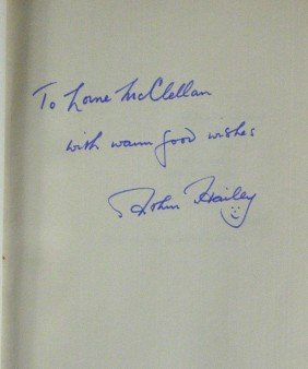 ARTHUR HAILEY - His Book Airport Signed, 1st Ed