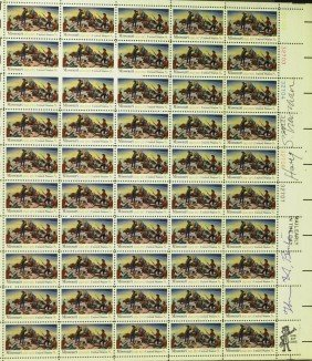 HARRY S TRUMAN/ THOMAS HART BENTON - Stamps
