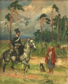 Wojciech Adalbert Kossak Polish 1857-1942