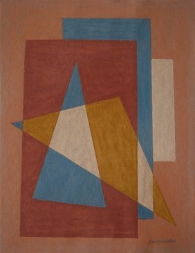 Emil Bisttram American 1895-1976