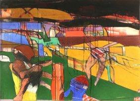 Richard Merkin American 1939-2009
