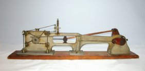 AN EARLY CORLISS STEAM ENGINE DEMO MODEL