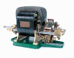 FINE PERRET'S PATENT ELECTRIC MOTOR/ DYNAMO