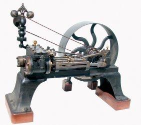 CA.1885 HORIZONTAL COMPOUND 6-8 HP STEAM ENGINE