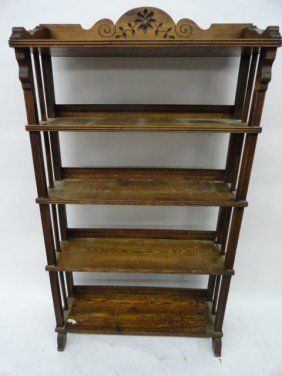 12210027J: OAK BOOKCASE