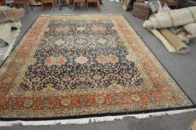 Room Size Handmade Persian Carpet -21943- 9'8