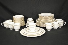 "Lennox Dinnerware Service For 8 In ""faith"" Pattern"