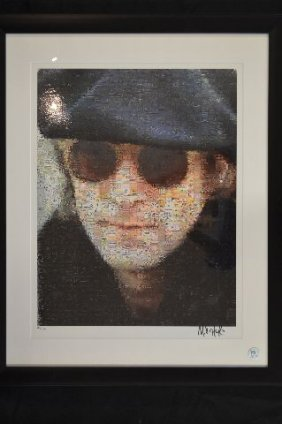 Numbered Print Of John Lennon By Neil Farkas