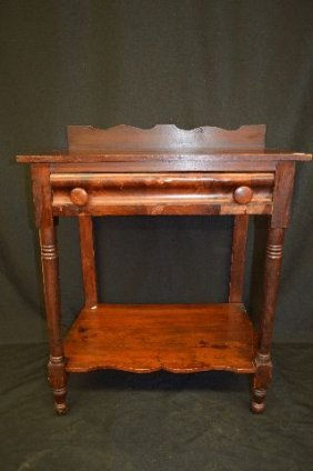 Early 19th Century Mahogany One Drawer Workstand