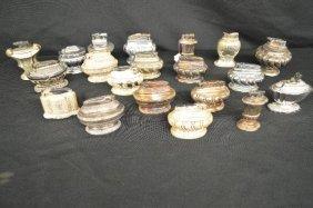 Twenty Vintage Ronson Silverplate Aladdin Type Lighters