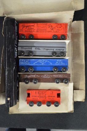 Toywood Flyer Train Boxed Set