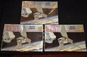 Three 1983 Unmade Models Star Wars Return Of The Jedi
