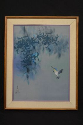 "David Lee Oil Original Oil Painting Of Birds; 23"" X 17"""