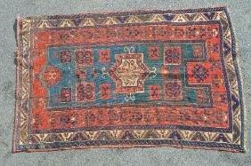 5 X 8 Antique Caucasian Rug
