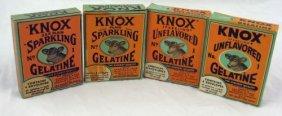Vintage Nos Knox Gelatine - Book & Card