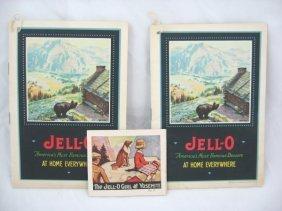 Vintage Jell-O Recipe Books - Yosemite