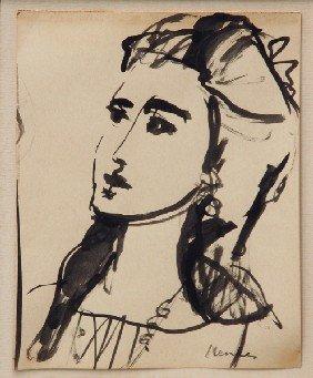 Sigmund Joseph Menkes - Study Of A Woman