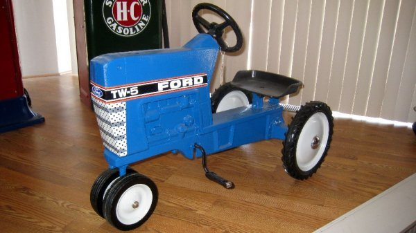 Tractor Pedal Car Parts : Ford tractor pedal car