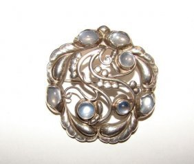 "Georg Jensen Sterling Moonlite"". Pin."""