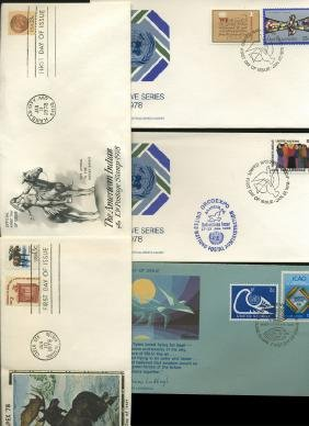 1976 US & UN FIRST DAY COVER COLLECTION