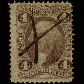 1860s US Revenue Stamp 10c 3 Different EST: $9 - $1