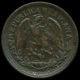1903 Mexico 1c VF/XF EST: $36 - $72 (COI-9985)