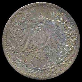 1905F Germany 50 Pfg PROOF RARE EST: $150 - $300 (C
