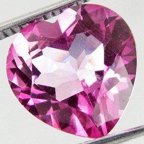 6.2ct  Mystic Pink Heart Topaz