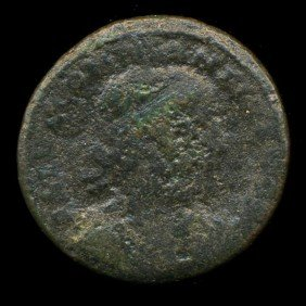 300AD Roman Bronze Coin Higher Grade