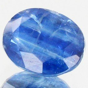 16.8ct Oval Cut Blue Kyanite