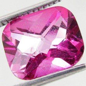 4.85ct Mystic Pink Cushion Topaz