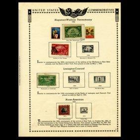 1924 US Stamp Album Page 6pcs EST: $21 - $42 (STM-1