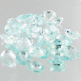 1.15ct Neon Blue Cuprian Tourmaline Parcel