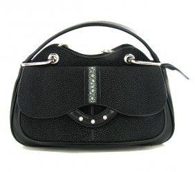 High End Ladies Stingray Handbag Purse