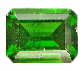 2.36ct VS Octagon Forest Green Chrome Diopside